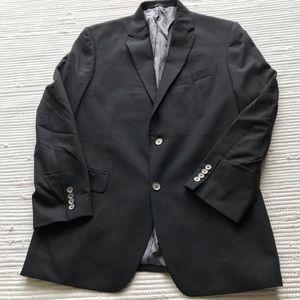 Calvin KLIEN Blazer Black 42L Wool/Polyester